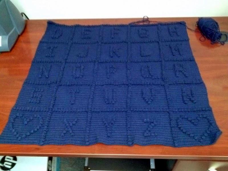 Free Crochet Abc Blanket Pattern : Crochet Attic