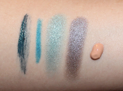 Clarins Aquatic Treasures Collection Swatches