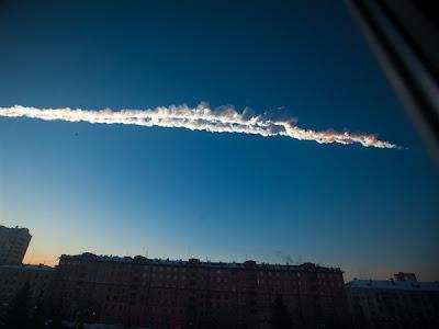 Seberapa Besar Ukuran dan Kekuatan Ledakan Meteor yang Terjadi di Rusia?