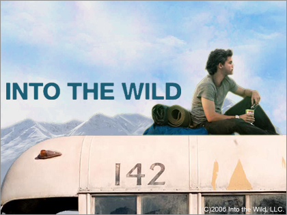 "going to answer some questions around the movie ""Into the wild"