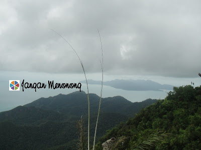 View From Mt Mat Chinchang Langkawi