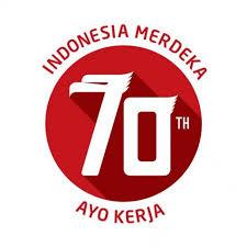 Logo Peringatan 70 tahun Kemerdekaan Republik Indonesia