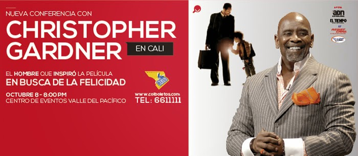 CHRIS GARDNER EN COLOMBIA