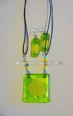 Conjunto verde limón
