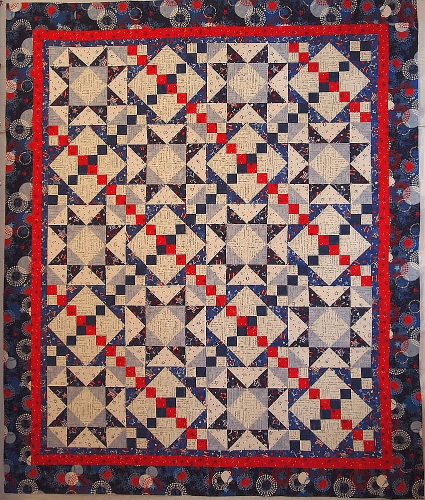 52 Quilts In 52 Weeks Happy Independence Day