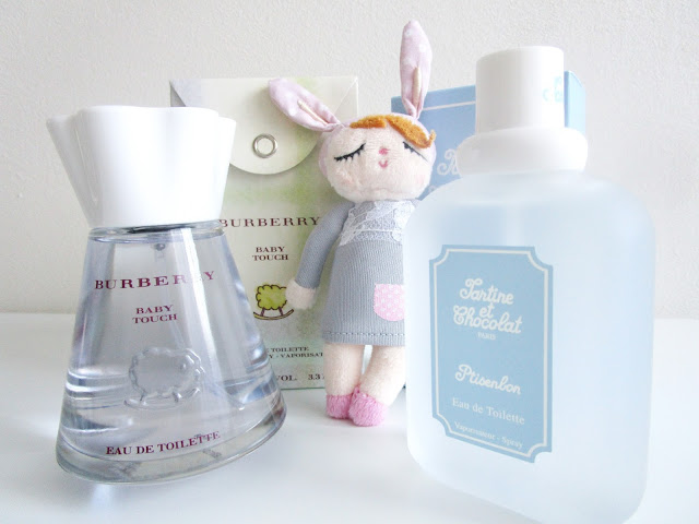 Perfumes para bebés: Tartine et Chocolat y Burberry Baby Touch
