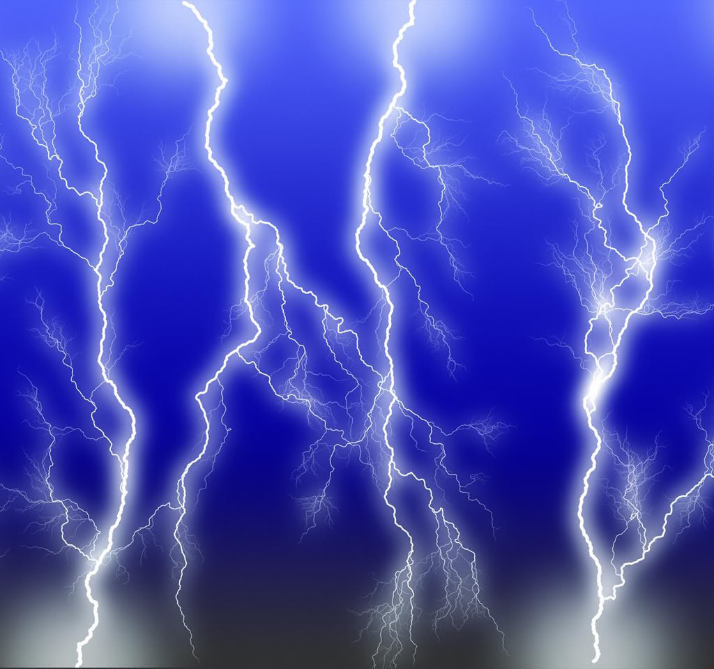 Aida Shaw: lightning background