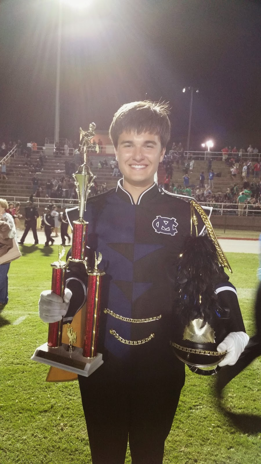 Marching Knights Rank Superior at Daleville Marching Classic 1
