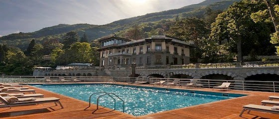 Opera fresh castadiva resort spa at lago di como is for Casta diva pictures
