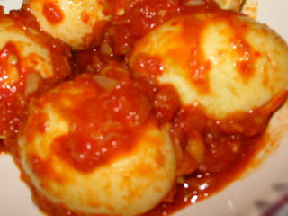 Spicy Fried Boiled Egg Telur Bumbu ala Warteg