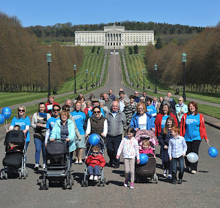 Stroll Stormont, one of our fundraising events in Northern Ireland