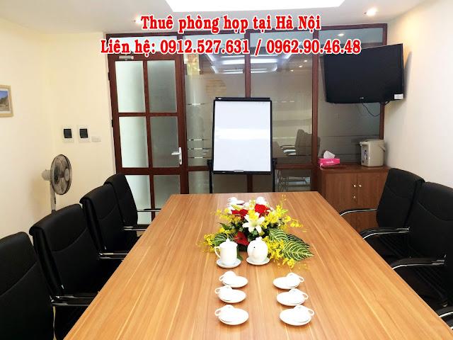 Cho thuê phòng họp từ 10 - 12 chỗ