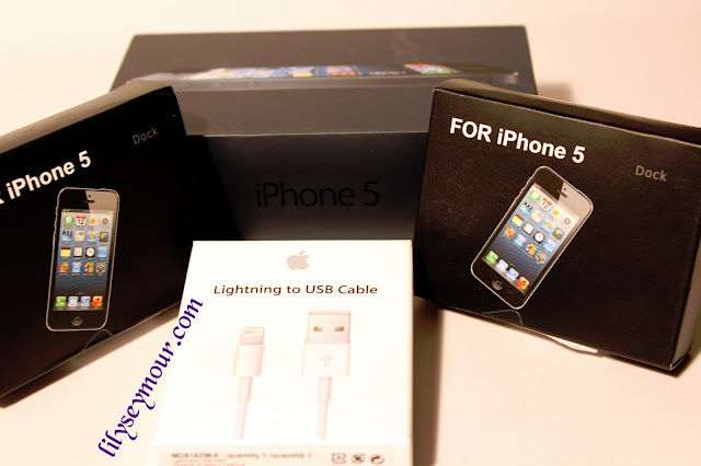 iPhone 5 Docking Station from Deal Extreme