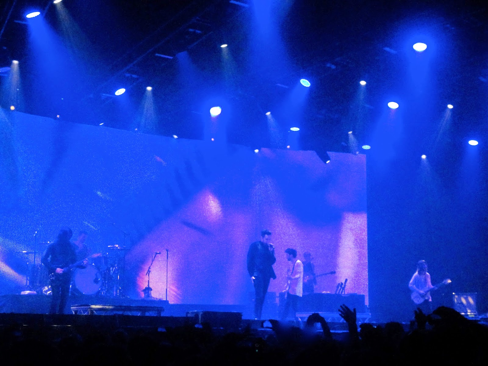 You Me At Six performing live in concert in Glasgow Hydro