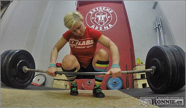 Pavla Kladivová testuje boty Inov-8 Fastlift