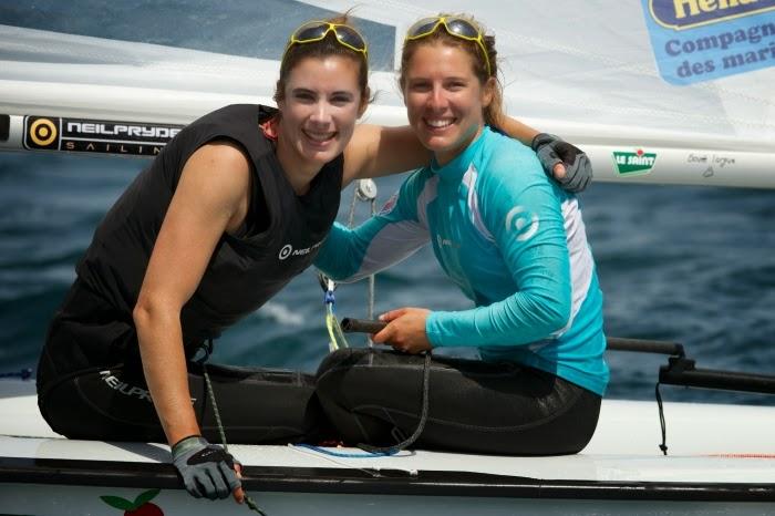 Camille Lecointre et Hélène Defrance