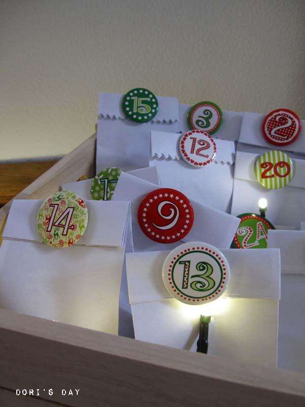 dori 39 s day adventskalender no ii mit t ten aus briefumschl gen. Black Bedroom Furniture Sets. Home Design Ideas