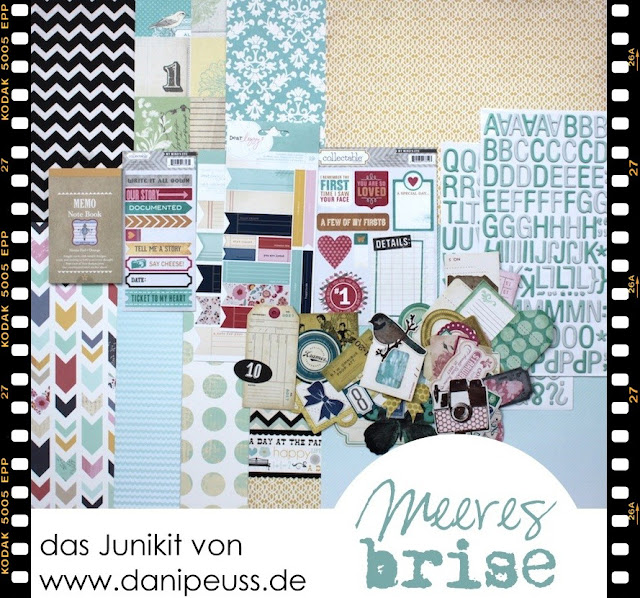Scrapbooking-Kit im Juni