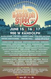Taste Of Randolph: June 15, 16, 17