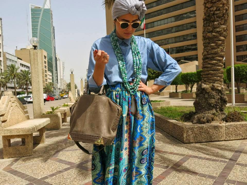 Jupe longue pour hijab