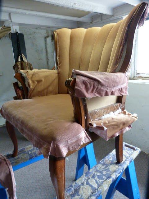 Practical Upholstery Design Studio: Channel Back Upholstery