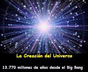 la creacion del universo
