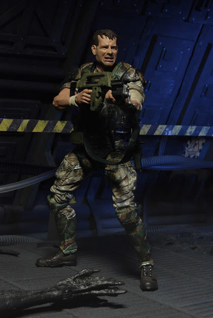 NECA Aliens Series 1 Figures Preview Photos