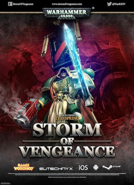 Warhammer 40000 Storm of Vengeance release