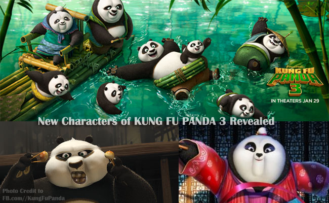 New Characters of KUNG FU PANDA 3 Revealed