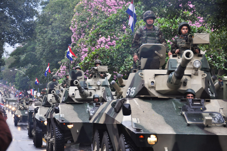 Armée paraguayenne Paraguay_024