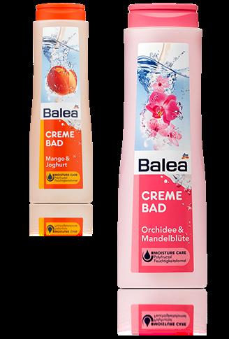 Balea Crème Bad Orchidee & Mandelblüte und Mango & Joghurt
