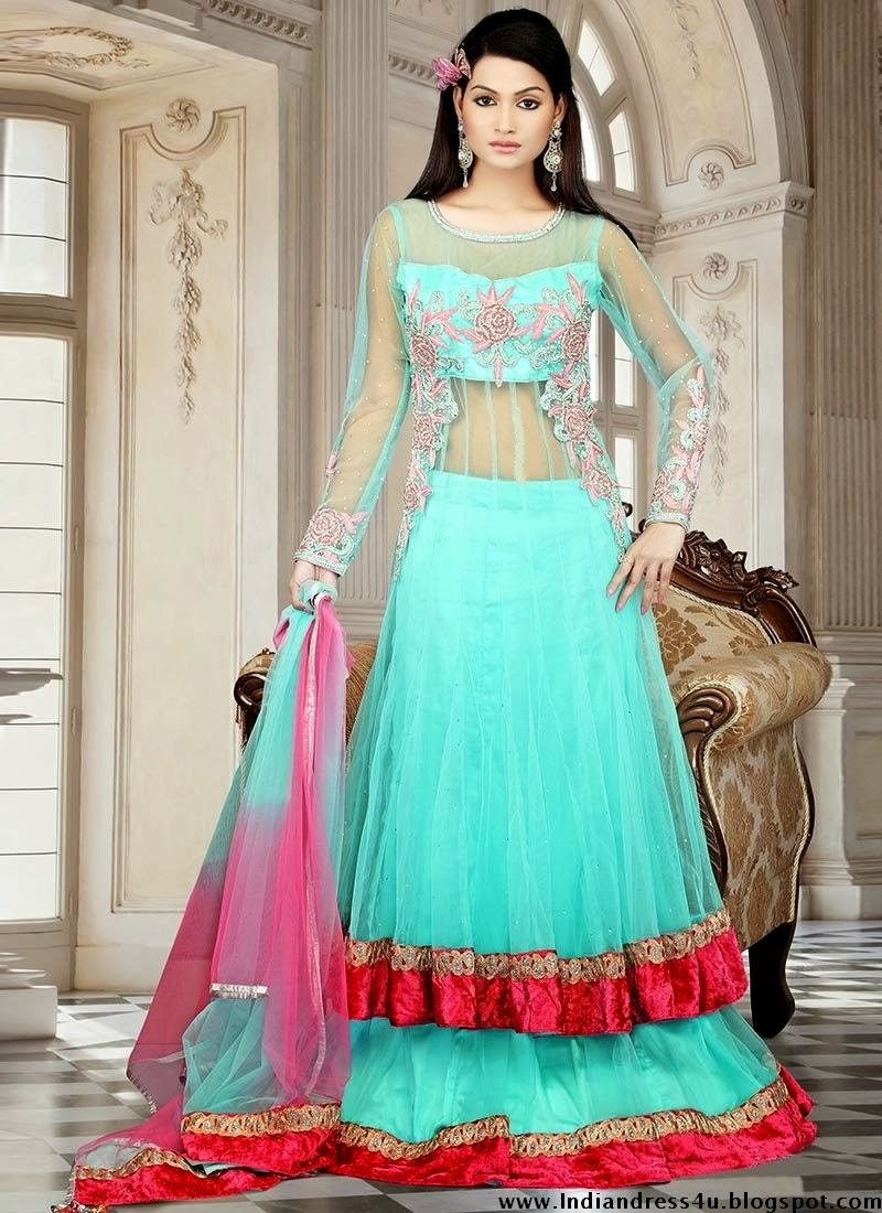 Beautiful Indian Newest Wedding Dresses 2013