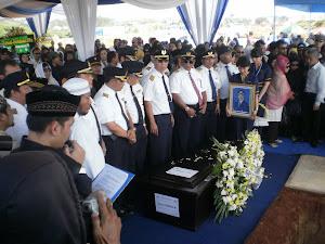 pemakaman penumpang sukhoi
