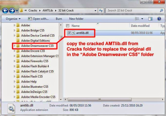 how to crack a dll file