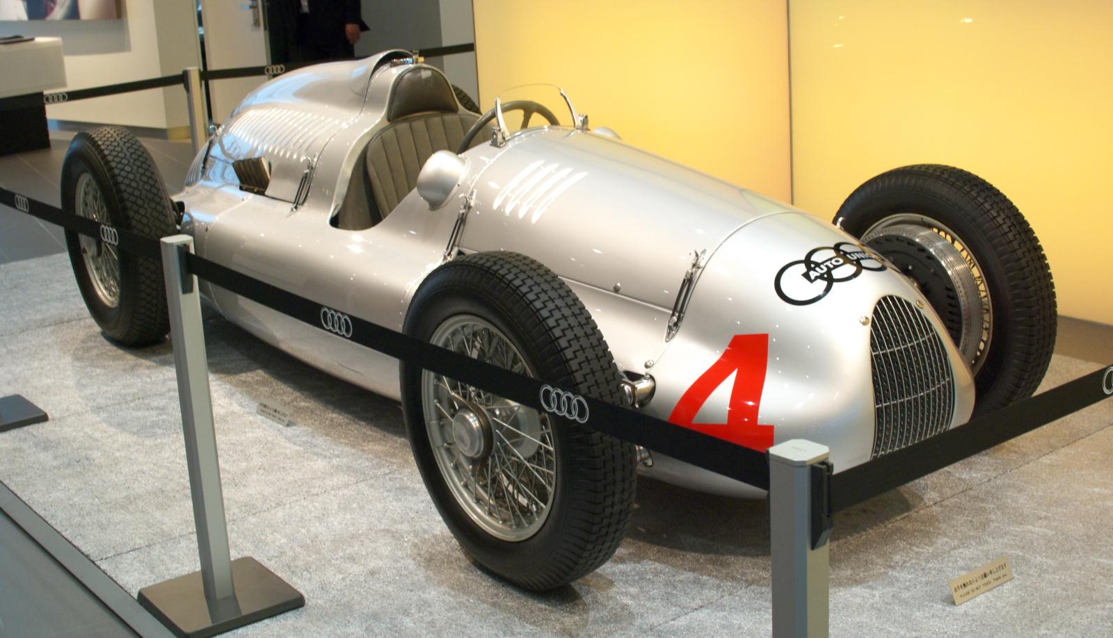 Auto union type d the car club for Garage auto l union