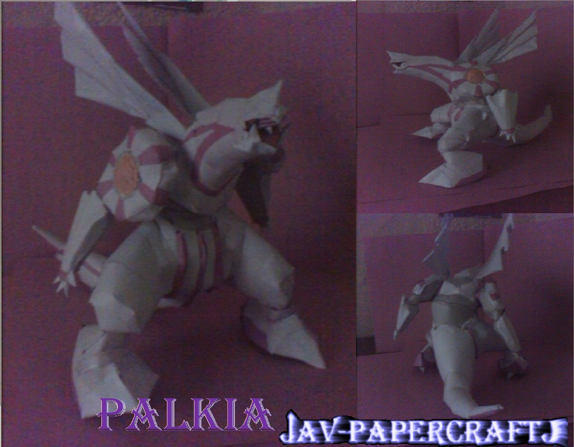 Pokemon Palkia Paper Model