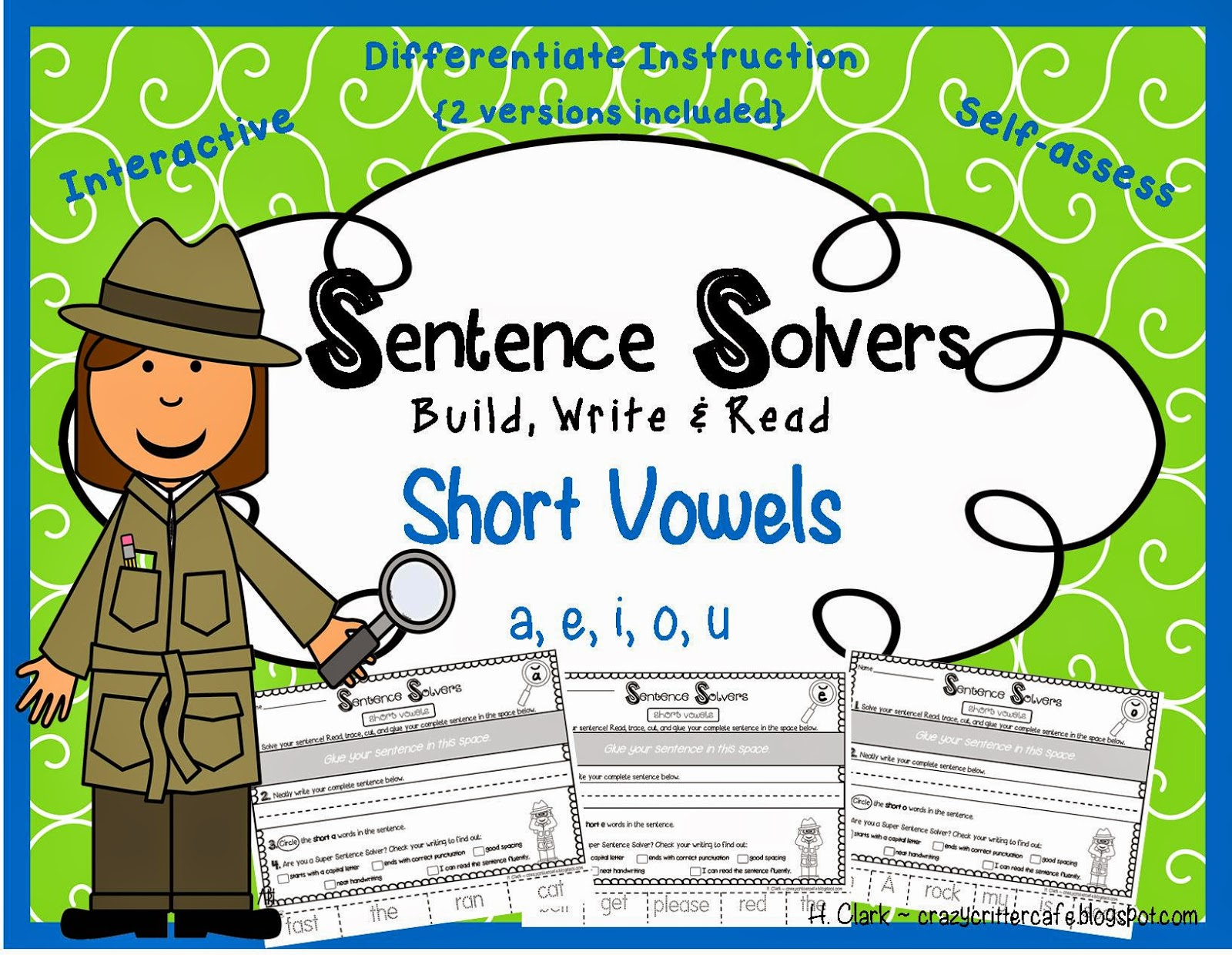 http://www.teacherspayteachers.com/Product/Sentence-Solvers-Short-Vowels-Interactive-Sentence-Building-Activity-1306356