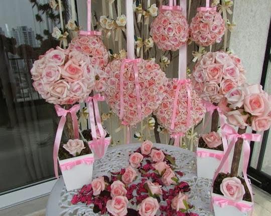 flores-decoração-romantica