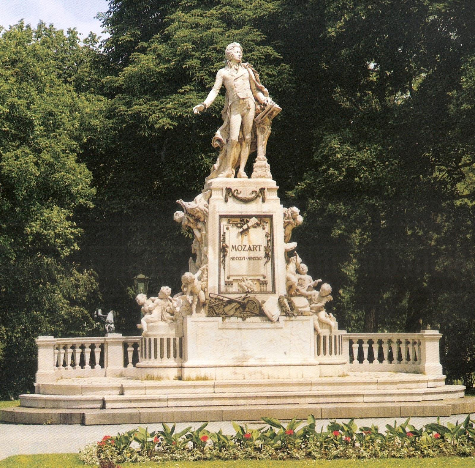 Mozart Memorial,Vienna