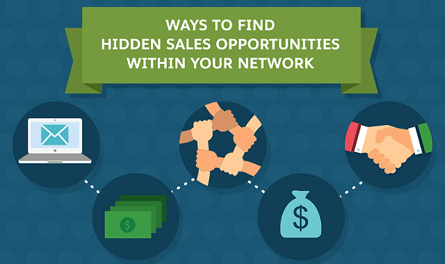 Ways to Find Hidden Sales Opportunities Within Your Network