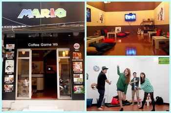 Hấp dẫn cafe game wii đầu tiên ở Hà Nội, café may lanh, café take away, quan café dep, café y, mon ngon ha noi, café ha noi, diem an uong ngon