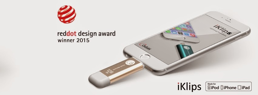 Adam Elements iKlips Lightning Flash Drive for iPhone, iPad, PC & Mac