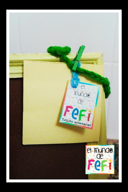 cuadros - portarretratos - el mundo de fefi - crochet - manualidades