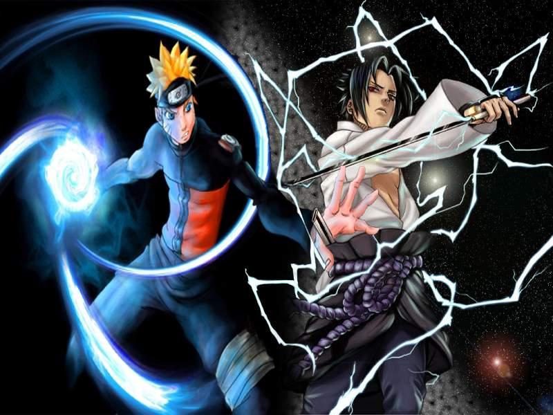 naruto vs sasuke drawings. naruto vs sasuke shippuden