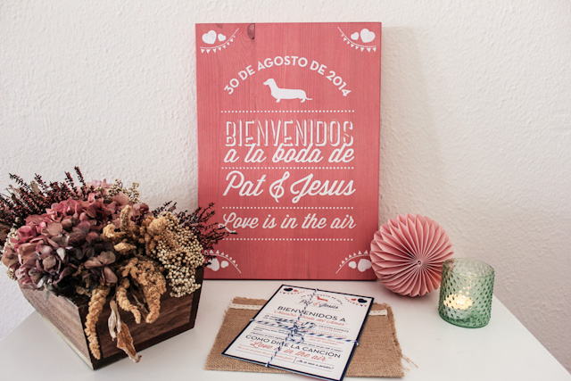 invitaciones boda wedding invitation srta edwina