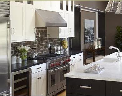 Cocinas integrales cocinas integrales modernas modelos de cocinas empotradas tiradores - Puertas de cocinas modernas ...