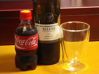 カリモチョ (赤ワインのコーラ割り)
