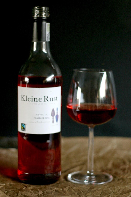 Rosé, Südafrika, Stellenrust, Wein, Ziegenkäse-Tarte, Weinrallye, Ziegenkäse-Tarte