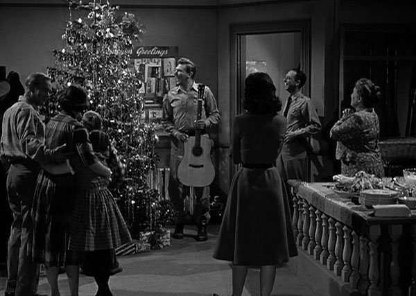 deputies to keep watch on the muggins family while they are in jail ellie aunt bee and opie while there they decide to have a christmas party - Andy Griffith Show Christmas Story
