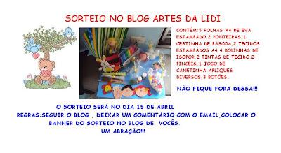 Sorteio Artes da Lidi
